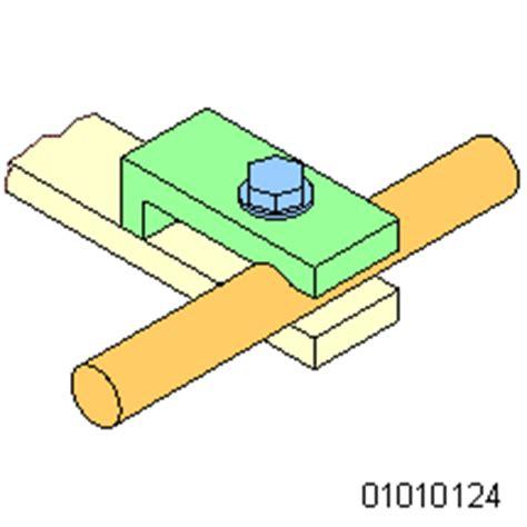 klemmverbindung konstruktionsbeispiel der verschiedenen