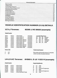 How To Restore Torana Workshop Manual Lc Lj Lh Lx Uc