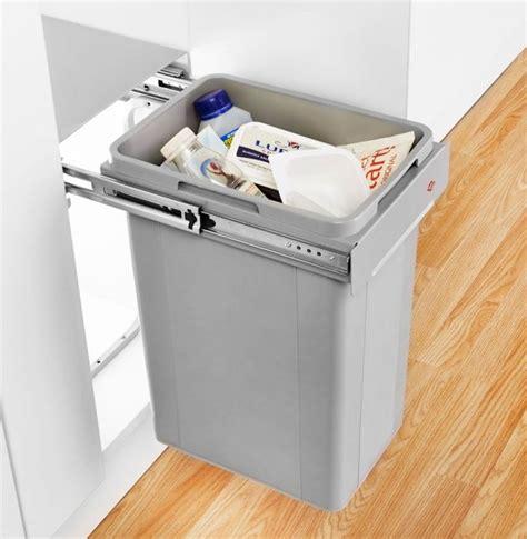 Cupboard Bin by Wesco Bio Single Pull Out Bin 32l 300mm Door