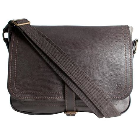 louis vuitton utah leather omaha messenger bag