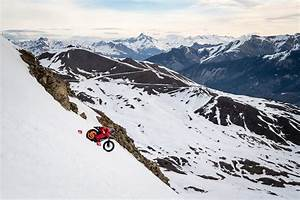 New World Speed Record For A Bike Set On Snow