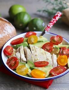 Salade Poulet Avocat : salade poulet avocat tomates cerises ~ Melissatoandfro.com Idées de Décoration