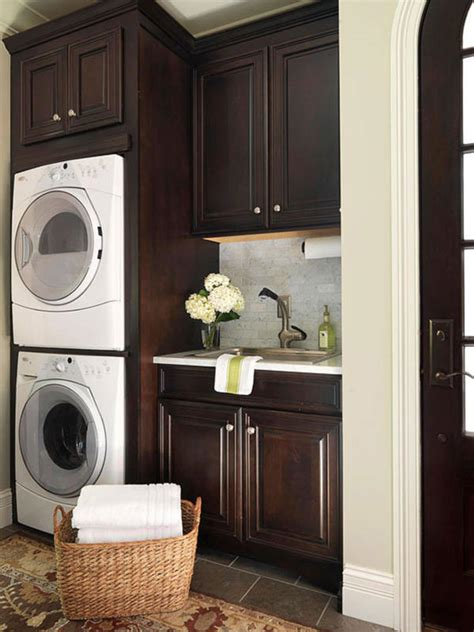 laundry room cabinets stackable washer dryer design