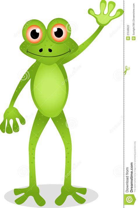 dessin anim 233 dr 244 le de grenouille photographie stock image 27048622