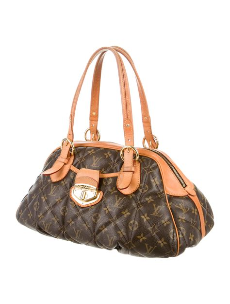 louis vuitton monogram etoile bowling bag handbags lou  realreal