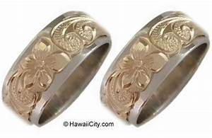 hawaiian jewelry wedding bands engagement 2 ring set ebay With hawaiian wedding rings sets