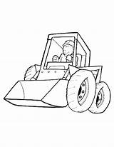 Coloring Pages Excavator Construction Comments sketch template