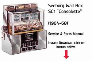 Seeburg Jukebox Wall Box Sc1  U201cconsolette U201d  1964