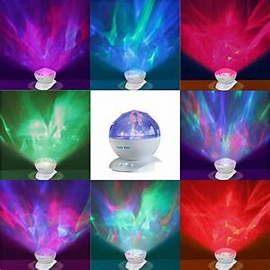 Aurora Borealis Night Light Projector with Music Player ...