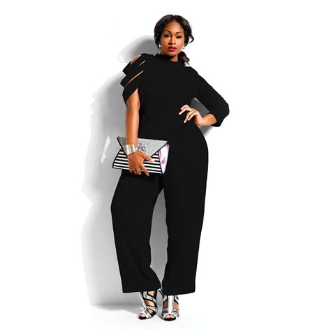 cheap plus size jumpsuits and rompers plus size jumpsuits irregular sleeves chiffon casual