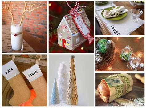 diy christmas decorations  gifts everyday dishes