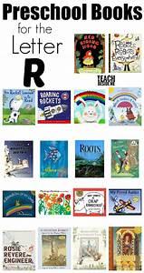 letter of the week preschool letter r activities teach With letter books for kindergarten