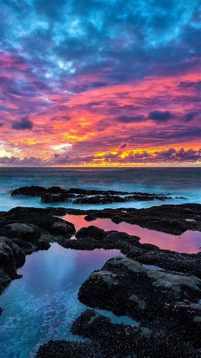 Sunset Beach 5k Wallpapers Rocky 1080 1440