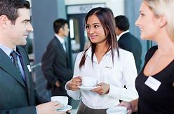 Image result for business networking picture of real people