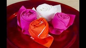 Comment Faire Des Roses En Papier : comment faire une rose avec une serviette en papier youtube ~ Melissatoandfro.com Idées de Décoration