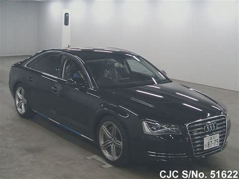 Audi A8 For Sale by 2011 Audi A8 Black For Sale Stock No 51622 Japanese