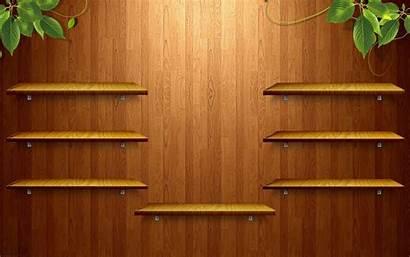 Bookshelf Shelf Wooden Desktop Wallpapersafari