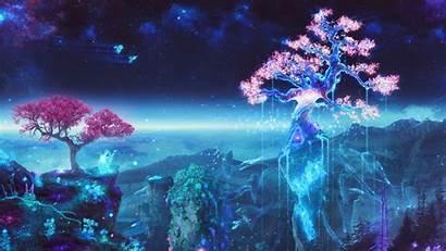 Anime Magic Desktop Wallpapers Fantasy 4k Beauty