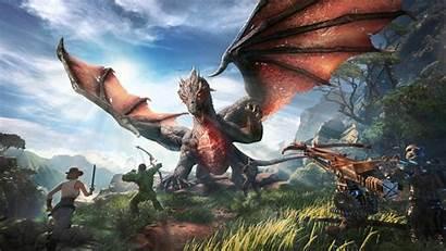 Ark Park 4k Wallpapers Resolution Dragon Games