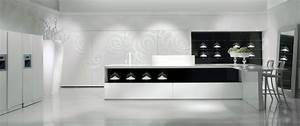 30 black and white kitchen design ideas digsdigs With kitchen design black and white