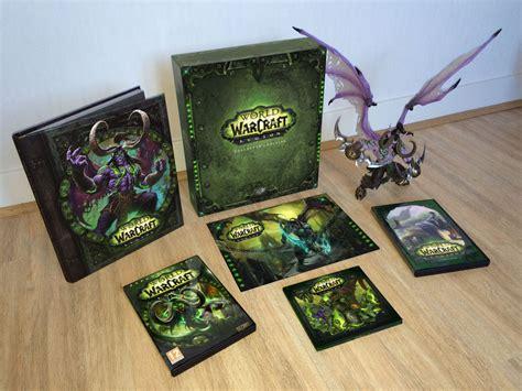 une fausse edition collector de world  warcraft legion