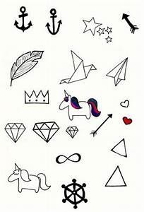 Dessin A Faire Sois Meme : l 39 avant gardiste blog archive tatouages tattly ~ Melissatoandfro.com Idées de Décoration