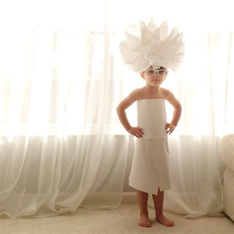 year  girl creates stylish paper dresses