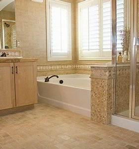 Vinyl floor tiles bathroom floor tile 14 top options for The ingenious ideas for bathroom flooring