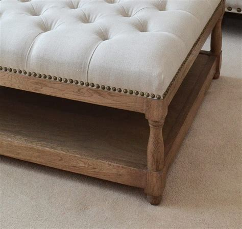 Cloth Ottoman Coffee Table by New Petit Royale Ottoman Upholstered Ottoman Upholstered