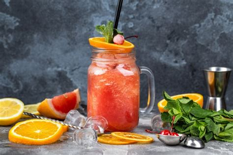 wallpaper smoothie juice ice cherries orange fruits