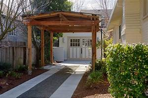 Backyard Cottage Contemporary Garage And Shed San