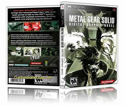 Metal Psp Gear Solid Graphic Novel Sony