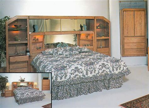 size waterbed headboards waterbed marathon wall unit or with waterbed cal king ek
