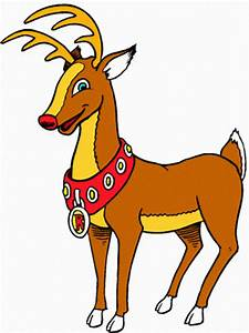 Nom Des Rennes Du Pere Noel : joyeux no l le renne au nez rouge ~ Medecine-chirurgie-esthetiques.com Avis de Voitures