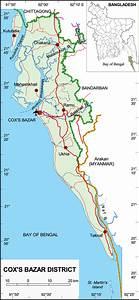 St Martin Island Bangladesh Map
