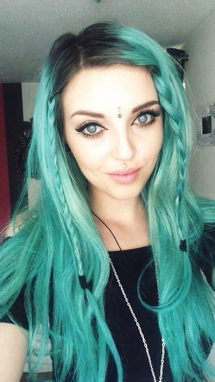 Only Best 25 Ideas About Aqua Hair On Pinterest