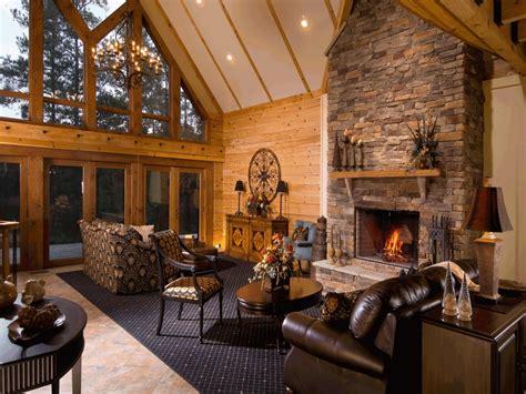 Inside Log Cabin Homes Log Cabin Interior Photo Gallery