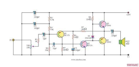 power amplifier otl cassette radio booster  tiptip