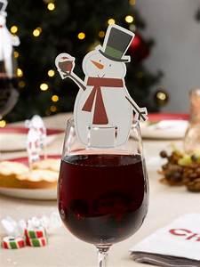Nordische Weihnachtsdeko Online Shop : schneemann glas markierer 10 st ck weihnachtsdeko ~ Bigdaddyawards.com Haus und Dekorationen