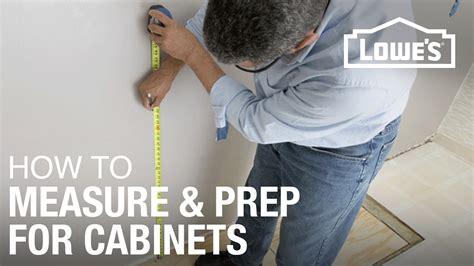 install kitchen cabinets prep measure youtube