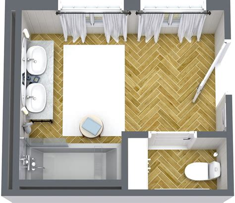 Small Bathroom Layout Designs by Bathroom Layouts Roomsketcher