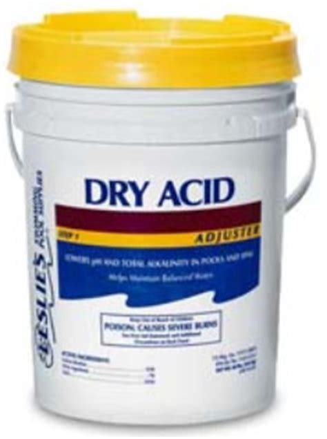 Pool Muriatic Acid Ph, Alkalinity, Decrease, Adjust, Pool