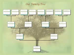 microsoft word family tree template