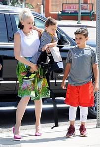 Gwen Stefani & kids