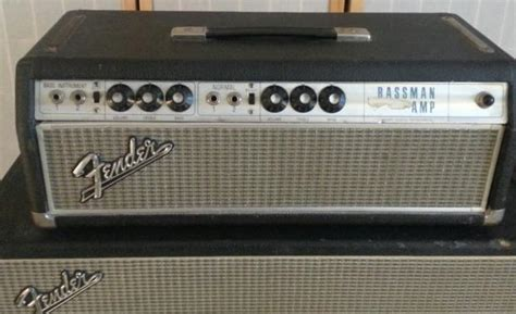 fender bassman cabinet serial numbers fender bassman 50 and cabinet 1969 silverface reverb