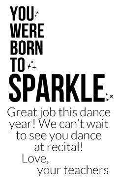 first dance recital quotes