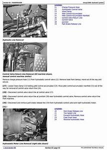 John Deere 318d  319d  320d  323d Skid Steer Loader W