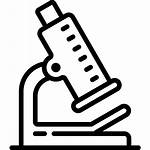 Science Clipart Microscope Icon Transparent Objects Object
