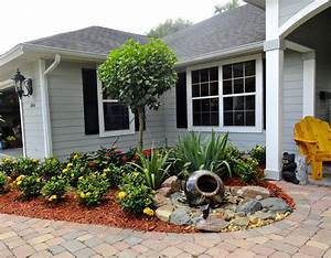 Front Yard Low Water Kid Friendly Landscape Ideas