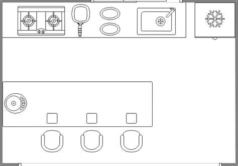 tabouret pour bureau symboles pour plan de construction cuisine et salle de bains